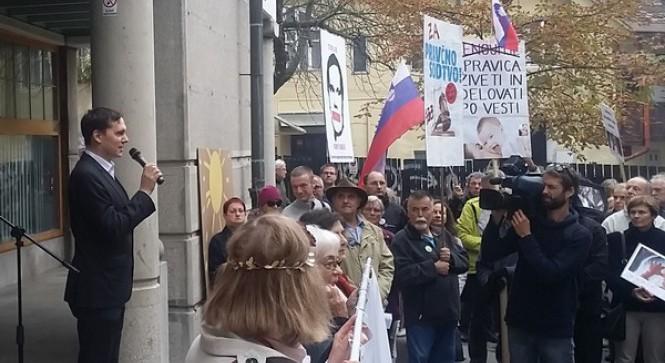 Shod v podporo p. Tadeju Strehovcu