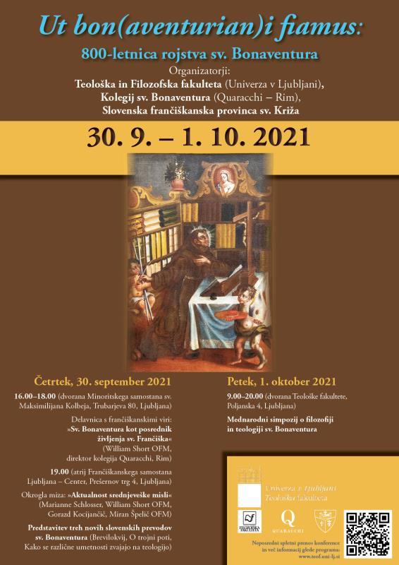 800-letnica rojstva sv. Bonaventura