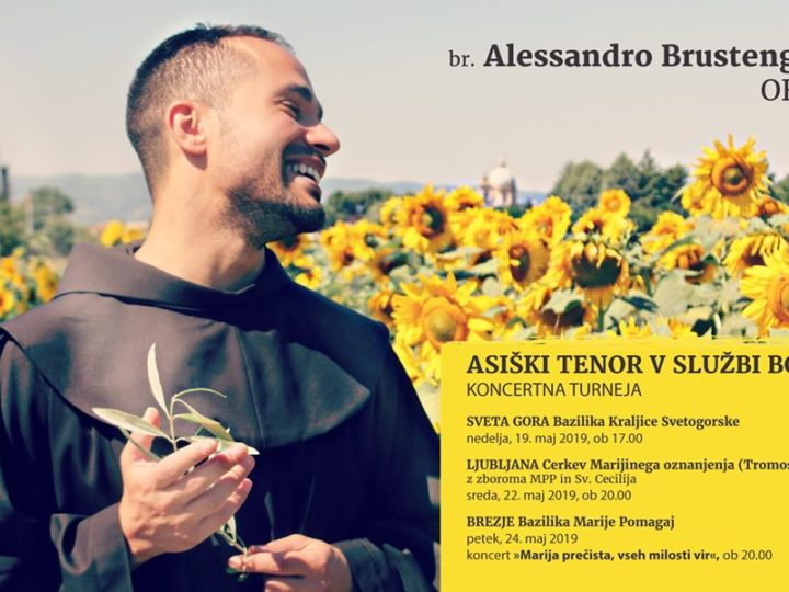 Koncert fra Alessandra Brustenghija OFM