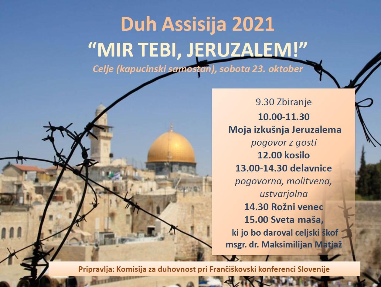 Duh Assisija 2021