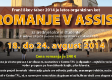 Frančiškov tabor 2014: Romanje v Assisi